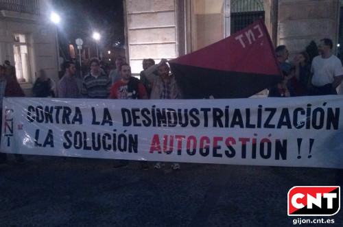 Manifestación Monroe Gijón 17/10/2013